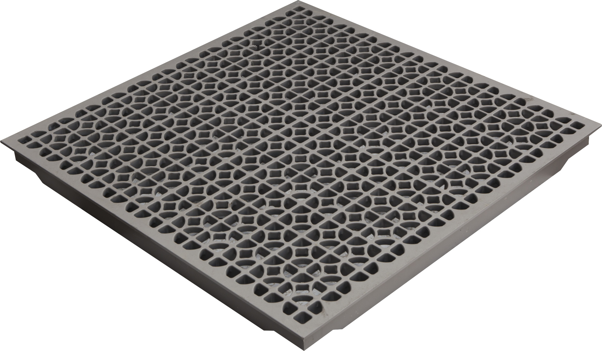 Aluminum triad floors perforated raised floor panels featuring a durable 55 open area perforated design our cast aluminum panel is our most economical option it is available in our crystal white and grey dailygadgetfo Choice Image